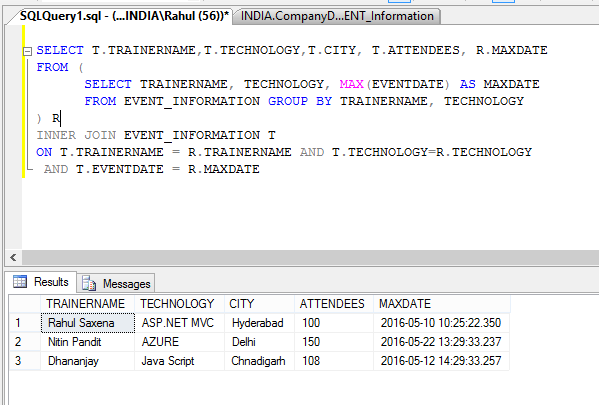 SQL SERVER Get Last Updated Column value in GROUP BY Statement